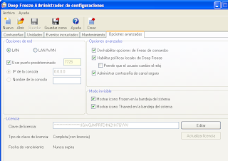 Deep Freeze Enterprise v7.20.220.3398 Multilenguaje (Español), Protega Instantáneamente