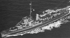 USS Eldridge Destroyer Escort 173