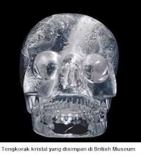Tengkorak kristal di british museum