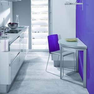 Azulejos sola grandes soluciones para espacios reducidos - Mesas para espacios pequenos ...