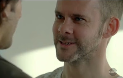 Lost Happily Ever After Charlie Pace Dominic Monaghan hospital dressing gown screencaps images photos pictures screengrabs captures