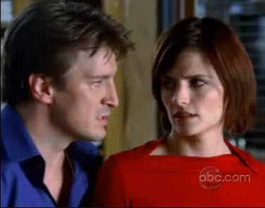 Nathan Fillion Richard Castle Stana Katic Kate Beckett detective author Castle screencaps images photos pictures screengrabs caps stills