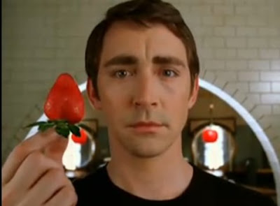 Lee Pace Ned Pushing Daisies strawberry screencaps images photos pictures screengrabs stills
