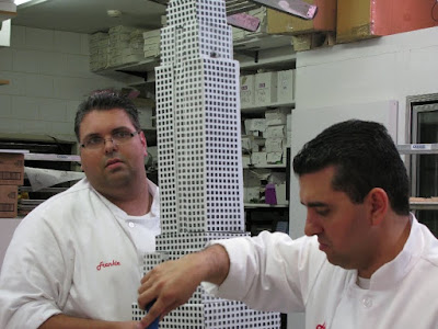 Cake Boss Fireworks Falling Fondant and Fathers Frank Amato Buddy Valastro Libby Klein skyscraper cake screencaps images photos pictures screengrabs captures