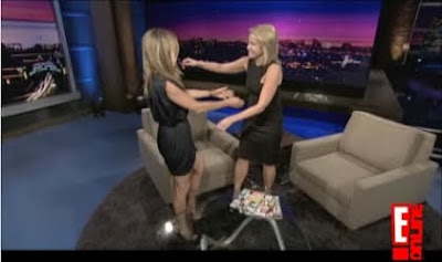 Jennifer Aniston Chelsea Handler Chelsea Lately September 18 2009 screencaps video images pictures photos screengrabs captures
