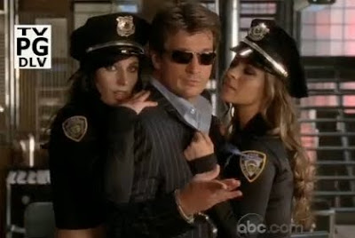 Nathan Fillion Richard Castle porn cop police women girls Deep in Death screencaps images photos pictures screengrabs captures