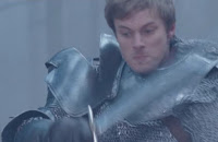Merlin The Tears of Uther Pendragon King Arthur Bradley James Merlin Colin Morgan Morgana Katie McGrath Gwen Angel Coulby Gaius Richard Wilson Uther Anthony Head screencaps images pictures photos recaps