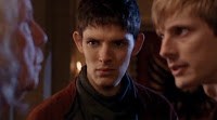 Merlin The Tears of Uther Pendragon Gaius Richard Wilson Colin Morgan Arthur Bradley James screencaps images photos pictures screengrabs