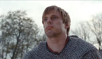 Merlin The Tears of Uther Pendragon screencaps images photos Arthur fight hit Bradley James pictures screengrabs