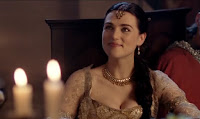 Merlin The Tears of Uther Pendragon screencaps images photos pictures screengrabs Morgana Katie McGrath smile