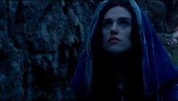 Merlin The Tears of Uther Pendragon screencaps images photos pictures screengrabs Morgana cloak Katie McGrath purple blue