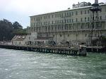 En närbild på fängelset, Alcatraz Frisco