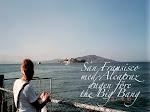 San Fransisco med Alcatraz dagen före September 11.