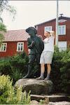 Lille Mats och bloggaren från hans uppväxtstad i Göinge: Hässleholm