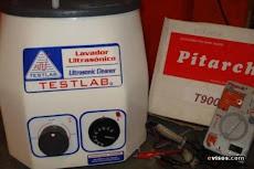 Batea de limpieza de inyectores por ultrasonido