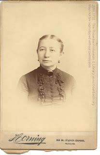 2006.1732. Isabella Rosenbach, July 23, 1888, a few months after she signed the above book.