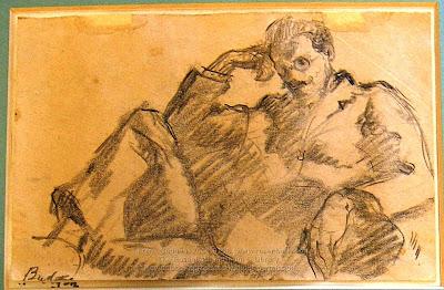 Frank Budgen, portrait of James Joyce. Zurich, 1919. 2004.0156