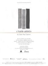 """""""A Puerta Cerrada"""", Obra Teatral de Jean Paul Sartre"""