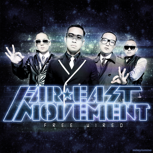 Far East Movement - Free Wired (FanMade Album Cover)