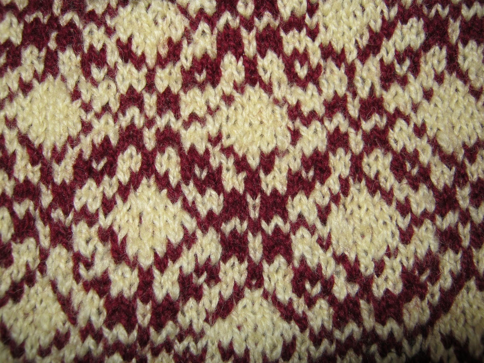 Knitting With Two Colors Meg Swansen : Counting sheep warm woolie weather