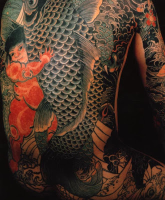 japanese tattoo. Art: Japanese art tattoos have