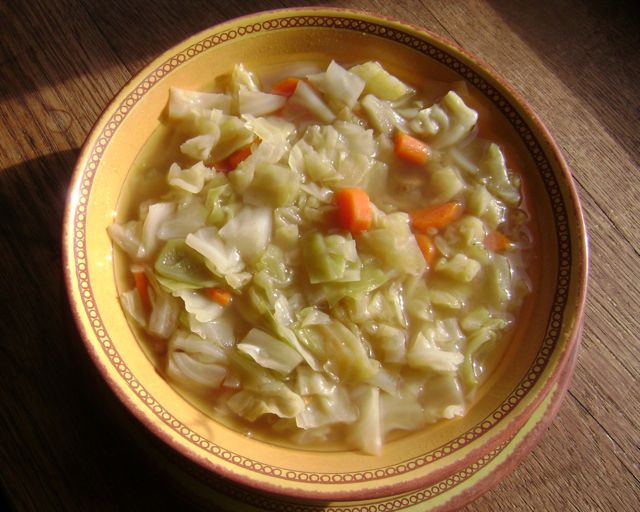 Celiac Shiksa: Russian Cabbage Soup
