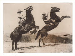 """Canadian Cowgirls Caper On Wild Horses"""