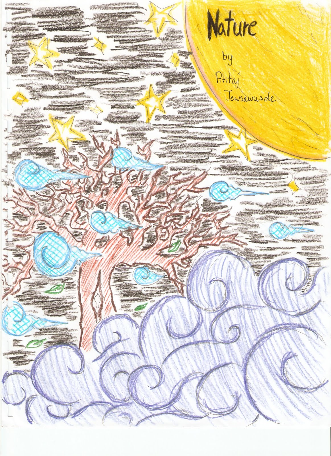 Poetry Book Front Cover : Professional development portfolio pictures of student work