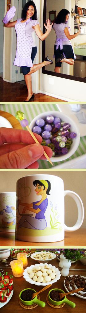 O dia do primeiro Chá entre Blogueiras