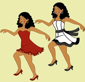 Essa é a Luciana Souza, uma morena bonita com sorriso mais do que generoso e que ama dançar!!!!