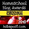 Best Teen Blog Award 2010