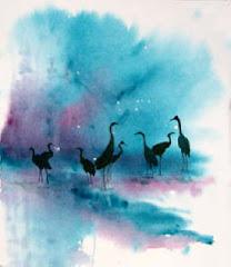 Herons, by Sr Kristin Haugen, ocdh