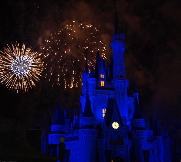 castillo en el Magic Kingdom
