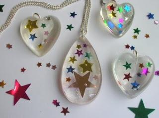 confetti jewellery