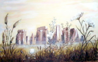 Stonehenge painting