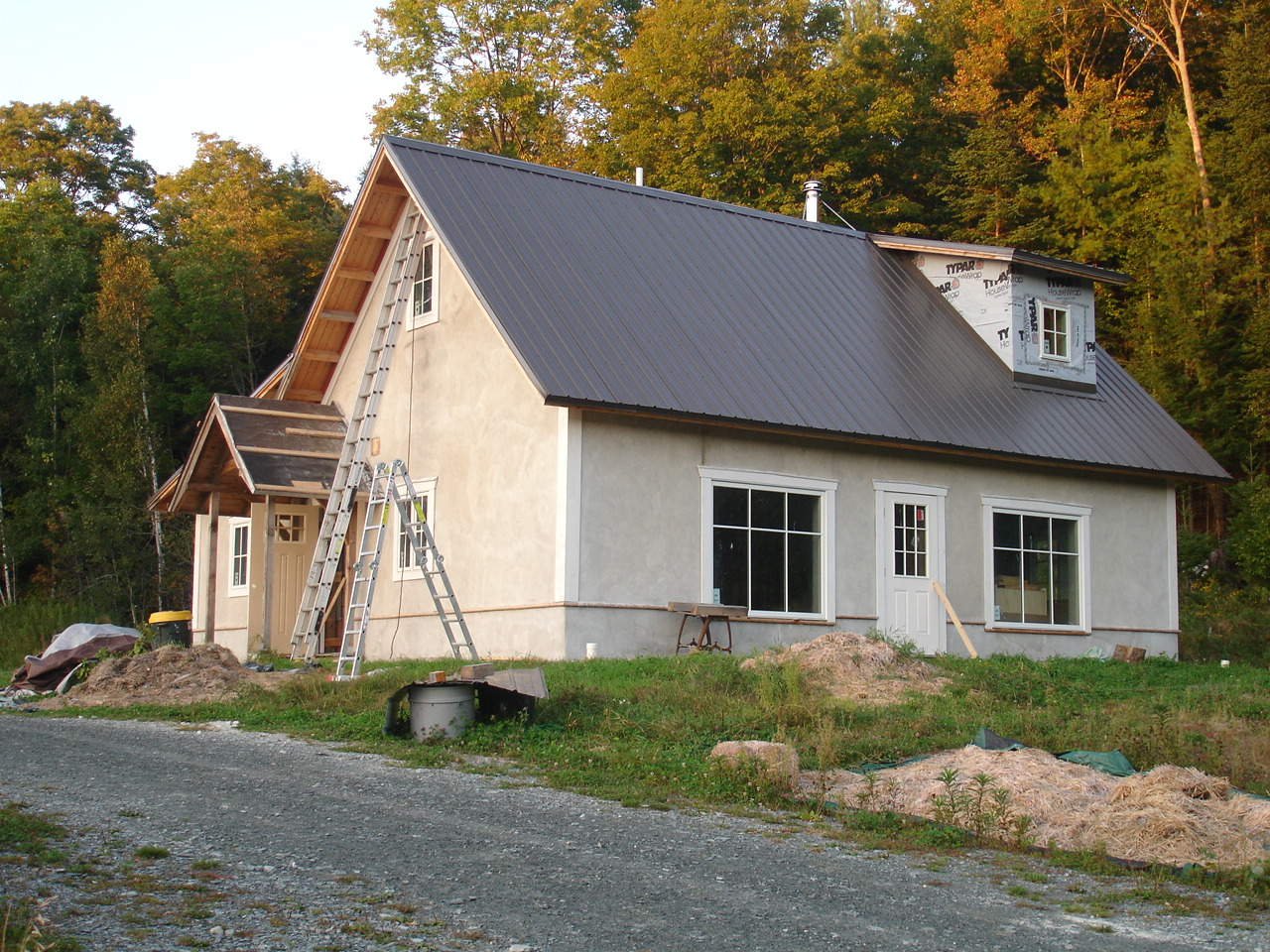 Vermont straw bale adventures for Vermont home builders