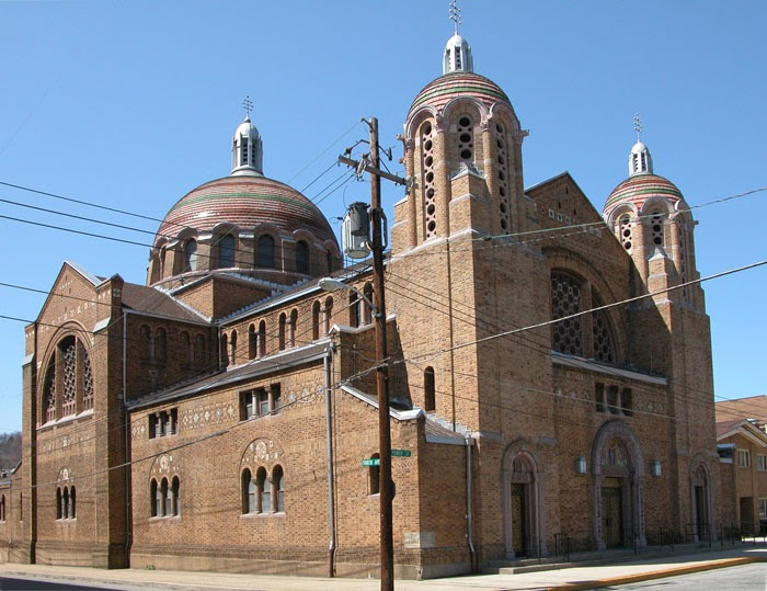 Sacred Places In The Alleghenies St Mary S Byzantine