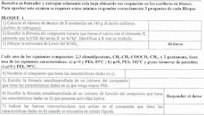 1- Blog para los alumnos de Química: 2009