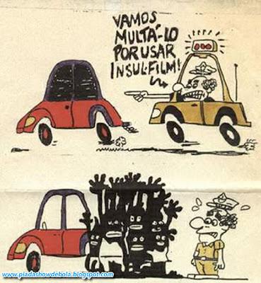 Quadrinhos Engraçados - Insul-Film