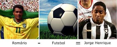 Matemática dos Famosos - Romário - Futebol = Jorge henrique