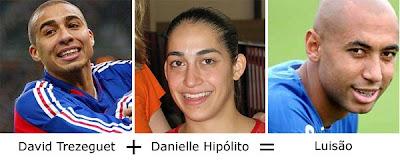 Matemática dos Famosos - David Trezeguet + Danielle Hipólito =  Luisão