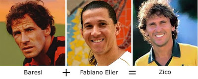 Matemática dos Famosos - Baresi + Fabiano Eller = Zico