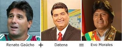 Matemática dos Famosos - Renato Gaúcho + Datena = Evo Morales