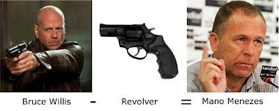 Matemática dos Famosos - Bruce Willis - Revolver = Mano Menezes