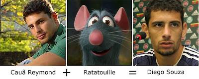 Matemática dos Famosos - Cauã Raymond + Ratatouille = Diego Souza