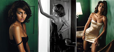 Camilla Belle em ensaio sensual