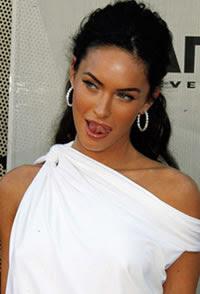 Megan Fox adora apanhar, mais uma pérola