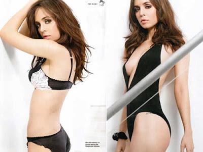 Eliza Dushku de biquini e lingerie em ensaio fotográfico