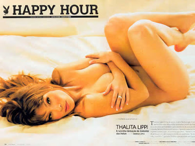 Thalita Lippi nua na Playboy