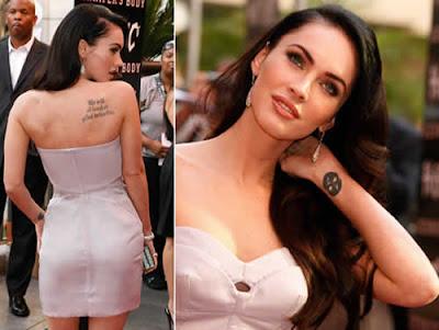 Tatuagens de Megan Fox